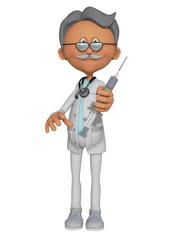 Doctor , Immunisation 3d