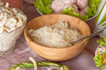 sauerkraut in a bowl