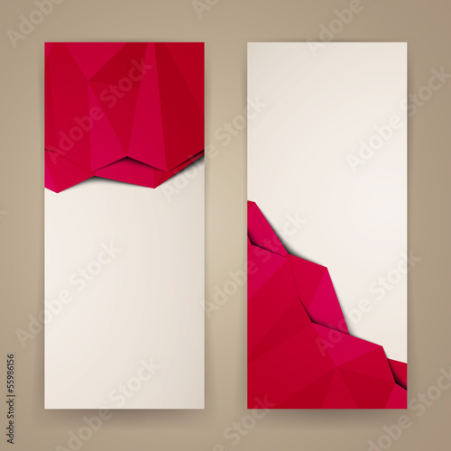 Vector Illustration of Abstract Banners
