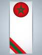 Morocco Country Set of Banners