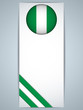 Nigeria Country Set of Banners