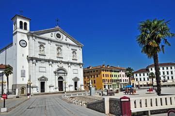 Palmanova in Friuli, Piazza Grande e duomo - Udine