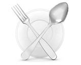 restaurant symbol -  fork and spoon