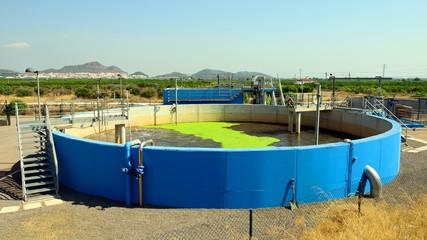 Depósito De Estación Depuradora De Aguas Residuales