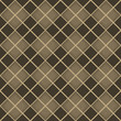 Seamless brown diamond pattern.