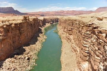 Marble Canyon, Colorado River in Arizona