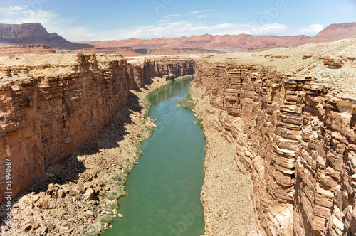 Marble Canyon, Colorado River in Arizona