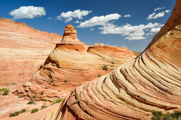 The Wave, Sandstone Curve (Arizona)
