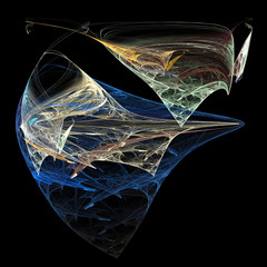 Fractal - multicolored abstraction