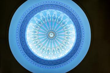 Ceiling of Islamic Arts Museum Malaysia in Kuala Lumpur