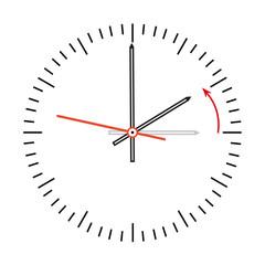 Uhr auf Winterzeit zurückstellen