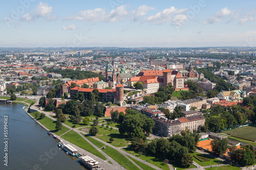 Wawel Castle Polish city of Krakow