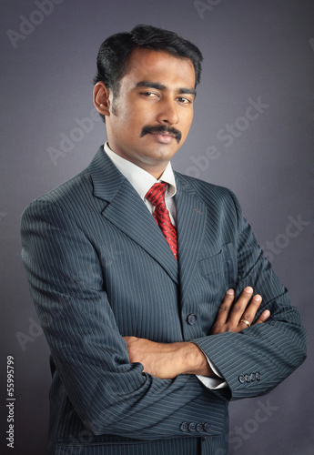 Portrait of Indian Businessman