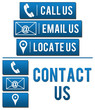 Contact Us with Elements Blue