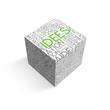 "Cube - Nuage de Tags ""IDEES"" (idées solutions innovation projet)"