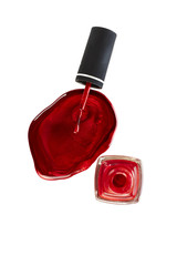 Red Nail Varnish