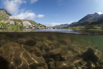 Alpines Tauchen - Schottensee/Flüelapass