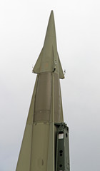 rocket with military explosive warhead for the war 7