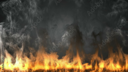 alpha matted fire
