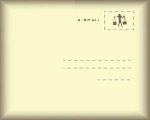 posta aerea dall'Egitto
