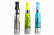 Electronic cigarette atomizer with liquid