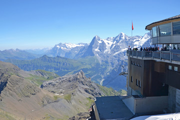 Schilthorn summit