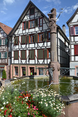 Schiltach fountain