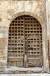 Ancient Spanish door