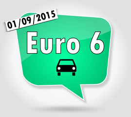 Bulle : Norme Euro 6 Date