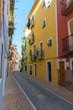 Colorful village street