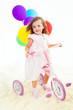 Sweet preschool girl