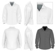 Men's button down shirt long sleeve