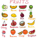 Fruits icons