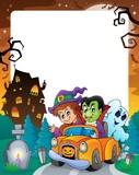 Halloween theme frame 5