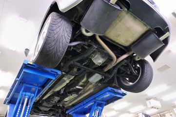 リフトの自動車