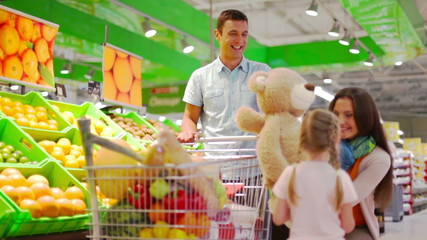 Supermarket teddy