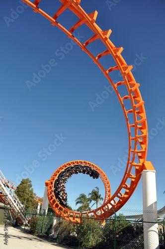 Orange Roller coaster - 56008994