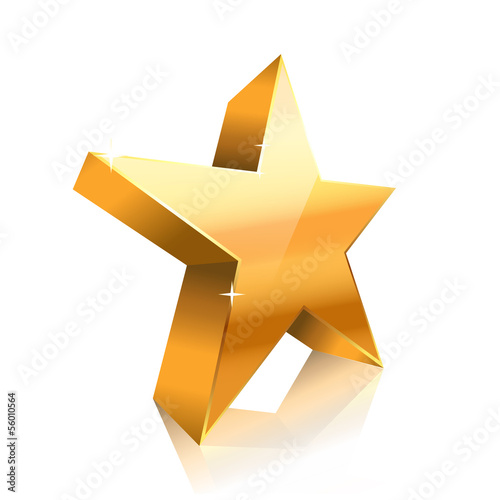 star made of gold