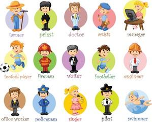 Мультфильмов разных профессий
