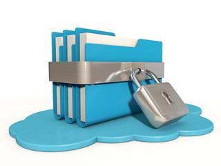Cloud file lock