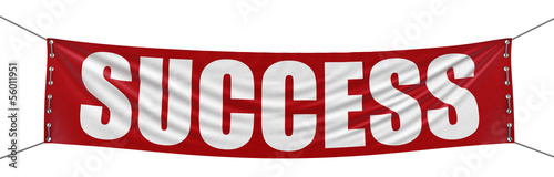 Success Banner (clipping path included)
