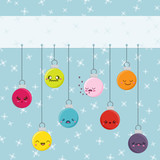 Cartoon Kawaii Hanging Baubles
