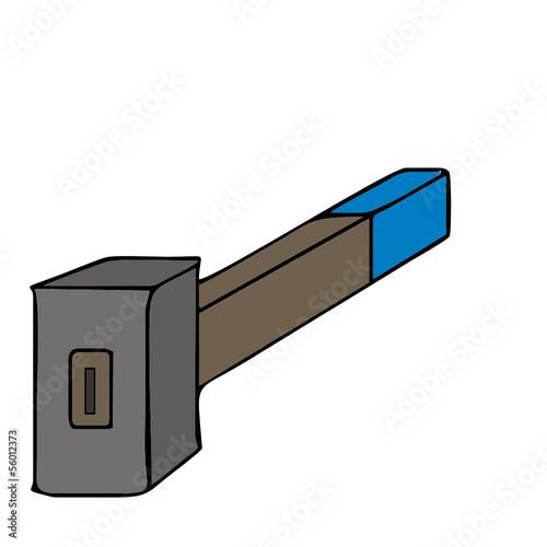sledgehammer vector illustration