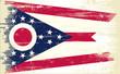 Ohio grunge Flag