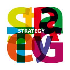 Vector Strategy. Broken text