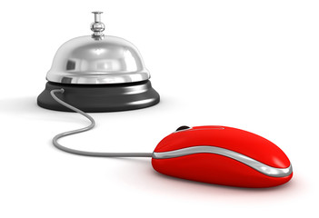 Service bell and Computer Mouse