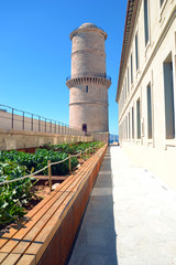 Marseille - le Phare Ste Marie au Fort St Jean