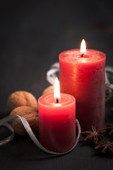 zwei Kerzen