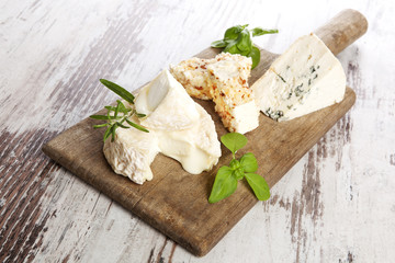 Cheese variation, rustic style.
