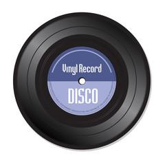Disco vinyl record